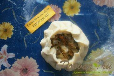 Курник с грибами Шаг 9 (картинка)