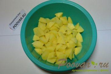 Суп гороховый с копченными свиными ребрышками Шаг 6 (картинка)