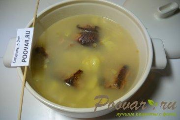 Суп гороховый с копченными свиными ребрышками Шаг 7 (картинка)