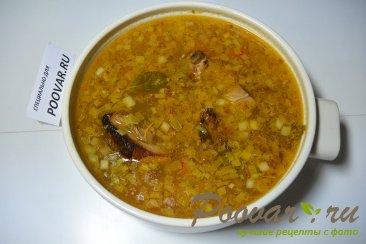 Суп гороховый с копченными свиными ребрышками Шаг 10 (картинка)
