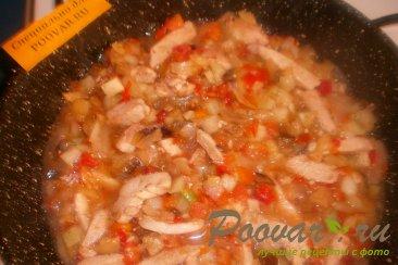 Курица с  овощной замороженной смесью Шаг 6 (картинка)