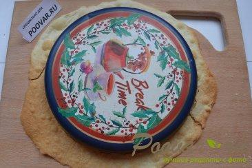Торт Наполеон с заварным кремом Шаг 13 (картинка)