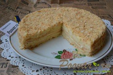 Торт Наполеон с заварным кремом Шаг 20 (картинка)