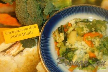 Рис с брокколи Шаг 9 (картинка)