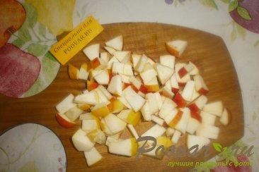 Тыква с яблоками и мандаринами Шаг 3 (картинка)