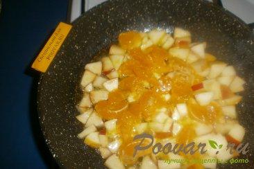 Тыква с яблоками и мандаринами Шаг 5 (картинка)