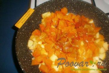 Тыква с яблоками и мандаринами Шаг 6 (картинка)