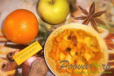 Тыква с яблоками и мандаринами Шаг 9 (картинка)