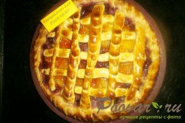 Пирог с вишней и тыквой Шаг 9 (картинка)