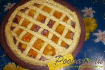 Пирог с вишней и тыквой Шаг 8 (картинка)