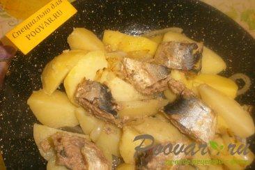 Картофель с сардиной Шаг 6 (картинка)