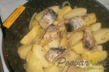 Картофель с сардиной Шаг 5 (картинка)