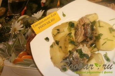 Картофель с сардиной Шаг 7 (картинка)