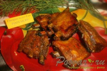 Свиные рёбрышки в свекольном и вишнёвом соке Шаг 9 (картинка)
