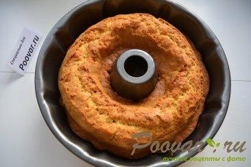 Мандариновый кекс с белково заварным кремом Шаг 7 (картинка)
