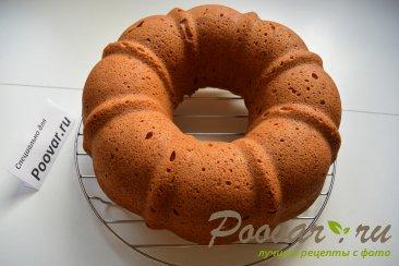 Мандариновый кекс с белково заварным кремом Шаг 8 (картинка)