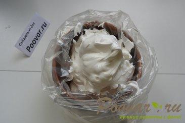 Мандариновый кекс с белково заварным кремом Шаг 9 (картинка)