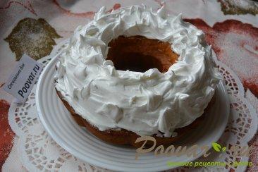 Мандариновый кекс с белково заварным кремом Шаг 13 (картинка)