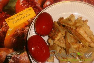 Картофель без масла в духовке Изображение
