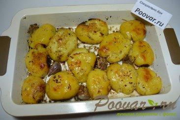 Картофель запеченный в духовке Изображение