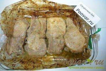 Свинина на косточке запеченная в рукаве Шаг 6 (картинка)