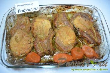 Свинина на косточке запеченная в рукаве Шаг 8 (картинка)