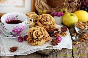 Печенье с орехами Изображение
