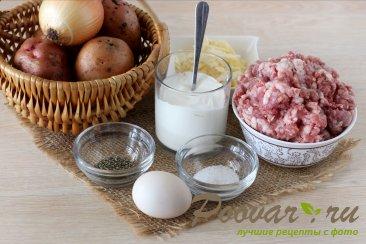 Фаршированный картофель в духовке Шаг 1 (картинка)
