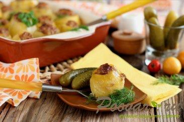 Фаршированный картофель в духовке Шаг 12 (картинка)