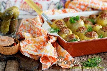 Фаршированный картофель в духовке Изображение
