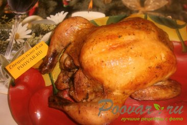 Курица с грибами Шаг 8 (картинка)