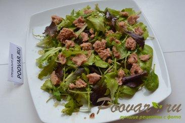 Салат микс с авокадо и тунцом Шаг 3 (картинка)