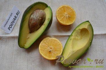 Салат микс с авокадо и тунцом Шаг 4 (картинка)