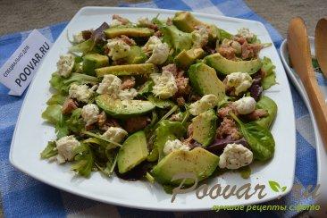 Салат микс с авокадо и тунцом Шаг 7 (картинка)