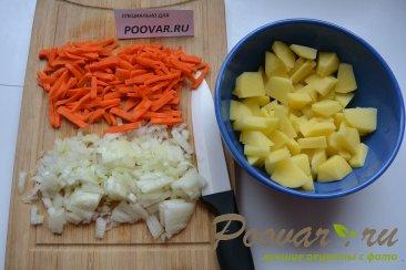 Суп с пельменями и картошкой Шаг 1 (картинка)