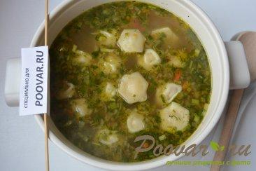 Суп с пельменями и картошкой Шаг 7 (картинка)