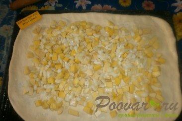Пирог с картофелем и луком Шаг 8 (картинка)