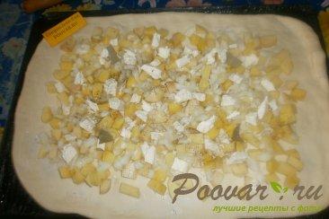 Пирог с картофелем и луком Шаг 9 (картинка)
