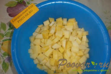 Пирог с картофелем и луком Шаг 2 (картинка)