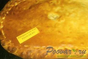 Пирог с картофелем и луком Шаг 12 (картинка)