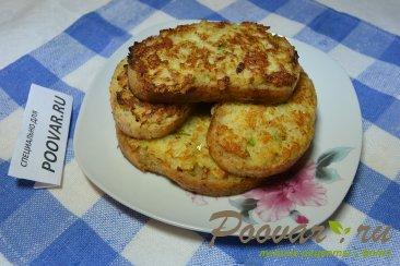 Горячие бутерброды с луком, сыром и яйцом Шаг 9 (картинка)