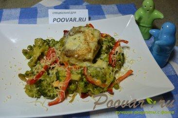 Рыба с овощами Изображение