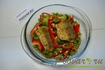 Рыба с овощами Шаг 10 (картинка)