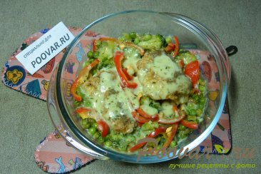 Рыба с овощами Шаг 12 (картинка)