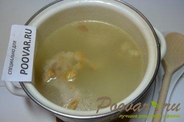 Куриный суп со стручковой фасолью Шаг 1 (картинка)