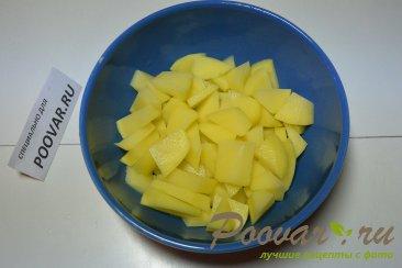 Куриный суп со стручковой фасолью Шаг 4 (картинка)