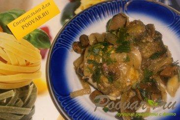 Хек с грибами и луком Шаг 9 (картинка)