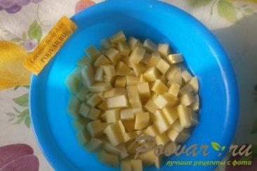 Борщ постный с фасолью и грибами Шаг 1 (картинка)