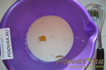 Быстрое тесто на кефире для жаренных пирожков Шаг 1 (картинка)