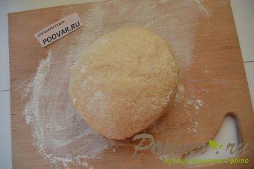 Быстрое тесто на кефире для жаренных пирожков Шаг 5 (картинка)